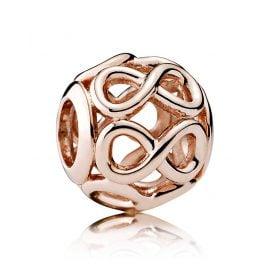 Pandora 781872 Charm Unendlichkeit Rosé