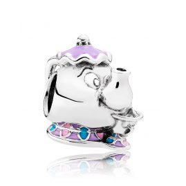 Pandora 792141ENMX Charm Mrs. Potts and Chip