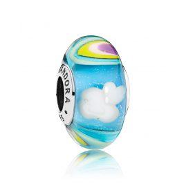 Pandora 797013 Muranoglas Irisierender Regenbogen
