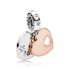 Pandora 787235CFP Charm Pendant Part of my Heart