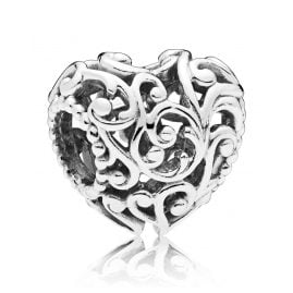 Pandora 797672 Silver Charm Regal Heart