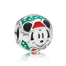 Pandora 797502ENMX Charm Santa Mickey