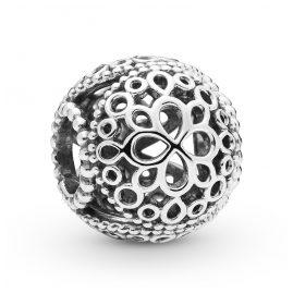 Pandora 797853 Silber Charm Openwork Flower