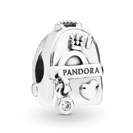 Pandora 797859CZ Silver Charm Adventure Bag