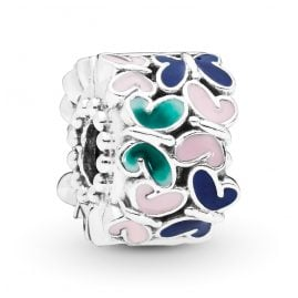 Pandora 797863ENMX Clip-Element Butterfly Arrangement