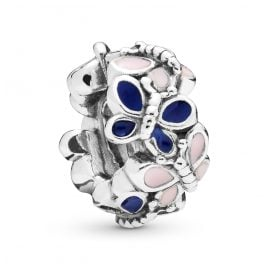 Pandora 797870ENMX Silver Spacer Butterfly Arrangement