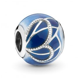 Pandora 797886ENMX Silver Charm Blue Butterfly Wing