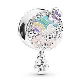 Pandora 797999ENMX Silber Charm Flower Colour Story