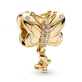 Pandora 767899CZ Shine Charm Decorative Butterfly