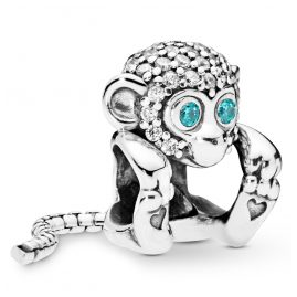 Pandora 798054CZ Charm Funkelnder Affe