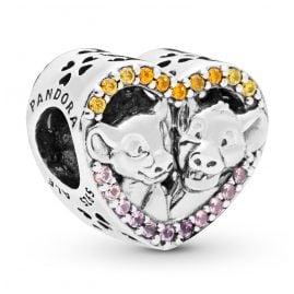 Pandora 798044NPRMX Silver Charm Simba & Nala
