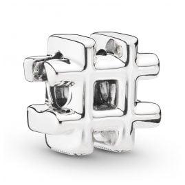 Pandora 798128 Charm Hashtag Silber