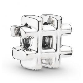 Pandora 798128 Charm Hashtag Silver