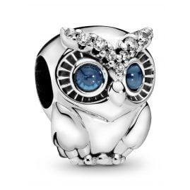 Pandora 798397NBCB Silver Charm Sparkling Owl
