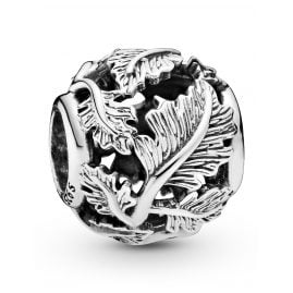 Pandora 798241 Silver Charm Openwork Leaves