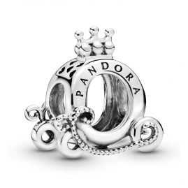 Pandora 798323 Silver Charm Polished Crown O Carriage