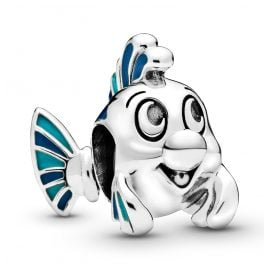 Pandora 798230ENMX Charm The Little Mermaid Flounder
