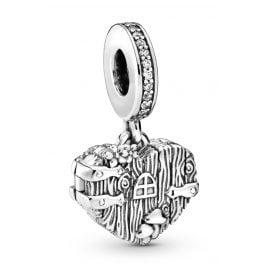 Pandora 798284CZ Silber Charm-Anhänger Home Sweet Heart