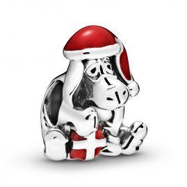 Pandora 798449C01 Silber Charm Eeyore Christmas Disney