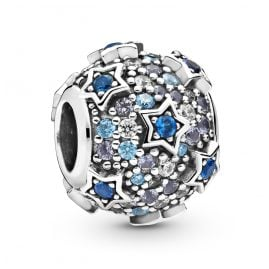 Pandora 798467C01 Silber Charm Elevated Stars Pavé