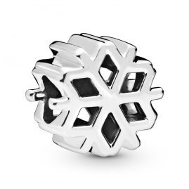 Pandora 798469C00 Charm Polished Snowflake Silber