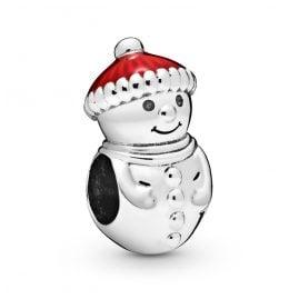 Pandora 798478C01 Silber Charm Snowman & Santa Hat