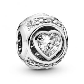 Pandora 798464C01 Silber Charm Elevated Heart