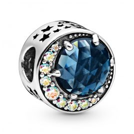 Pandora 798524C01 Silber Charm Moon & Night Sky