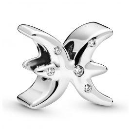 Pandora 798426C01 Silber Charm Funkelndes Sternzeichen Fische