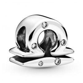 Pandora 798424C01 Silver Charm Sparkling Libra Zodiac