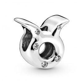 Pandora 798418C01 Silver Charm Sparkling Taurus Zodiac