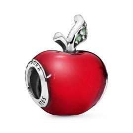 Pandora 791572EN73 Silver Charm Snow White's Red Apple