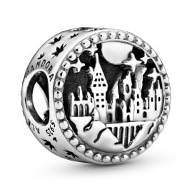 Pandora 798622C00 Silver Bead Charm Hogwarts School of Witchcraft and Wizardry