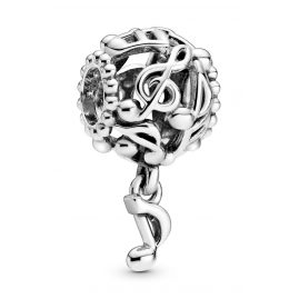 Pandora 798779C00 Silber Bead-Charm Musiknoten
