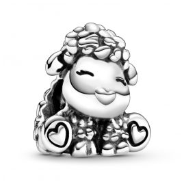 Pandora 798870C00 Silver Bead Charm Patti the Sheep
