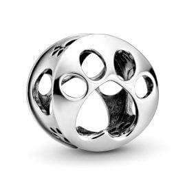 Pandora 798869C00 Silber Bead-Charm Pfotenabdruck