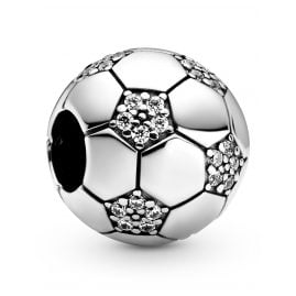 Pandora 798795C01 Silver Bead Charm Sparkling Football