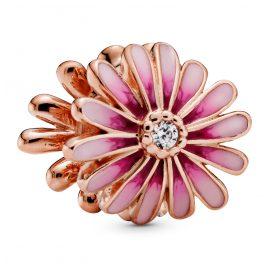 Pandora 788775C01 Rose Bead Charm Pink Daisy Flower