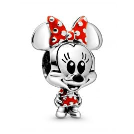 Pandora 798880C02 Silver Charm Disney Minnie Mouse Baby Dotted Dress