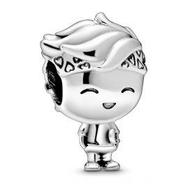 Pandora 798897C00 Silber Bead-Charm Teenager Junge