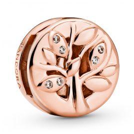 Pandora 788822C01 Reflexions Rose Clip-Charm Funkelnder Familienstammbaum