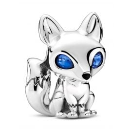 Pandora 799096C01 Silber Charm Blauäugiger Fuchs