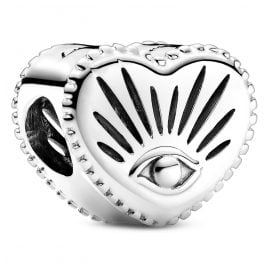 Pandora 799179C00 Silver Charm Heart All-seeing Eye