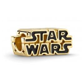 Pandora 769247C01 Shine Charm Star Wars 3D Logo