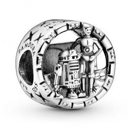 Pandora 799245C00 Silber Charm Star Wars C3-PO & R2-D2