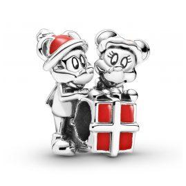 Pandora 799194C01 Charm Micky & Minnie Maus Geschenk Silber