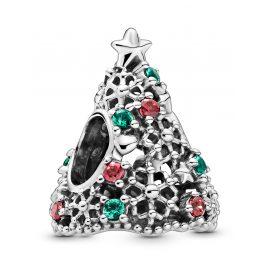 Pandora 799226C01 Charm Glitter Christmas Tree Silver