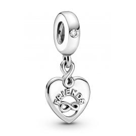 Pandora 799294C01 Silver Dangle Charm Friends Forever Heart