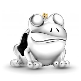 Pandora 799342C00 Silver Charm Two-Tone Frog Prince