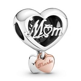 Pandora 789372C00 Rose Charm Thank You Mum